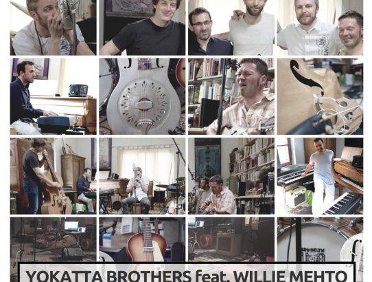 Autre projet Yokatta avec l'harmoniciste Willie Mehto (Finlande)